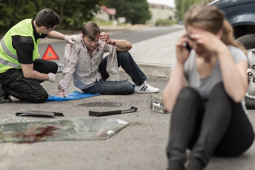 Erste Hilfe nach Autounfall